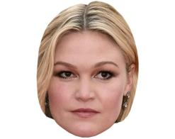 A Cardboard Celebrity Mask of Julia Stiles