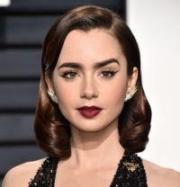 Lily Collins Hair Color 2017 - Celebrity Hair Color Guide