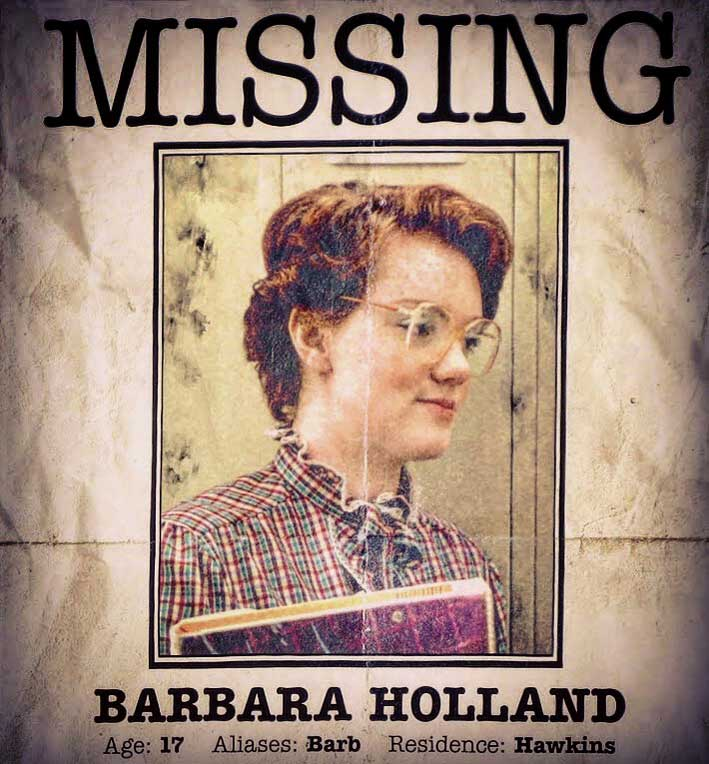 Looking For Barb! 10 (Stranger) Things You Might Not Know About - missing poster generator