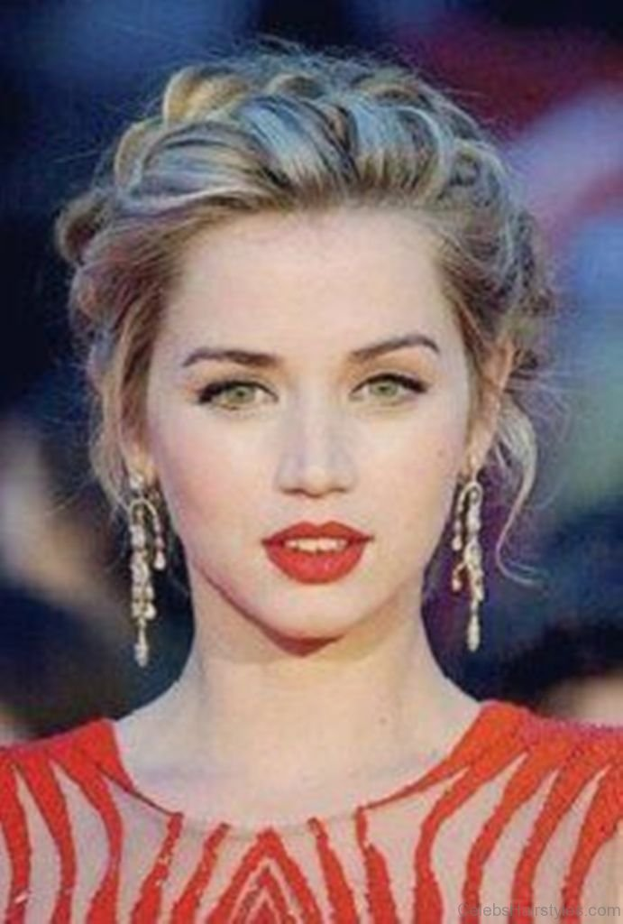 Cool Stylish Girl Hd Wallpaper 52 Mind Blowing Hairstyle Of Ana De Armas