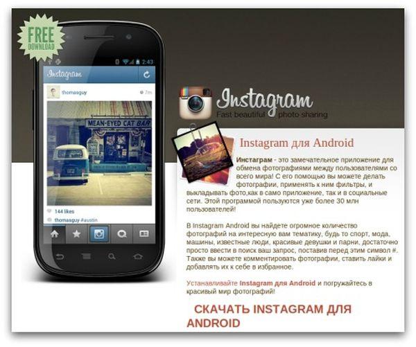 Fake Instagram App