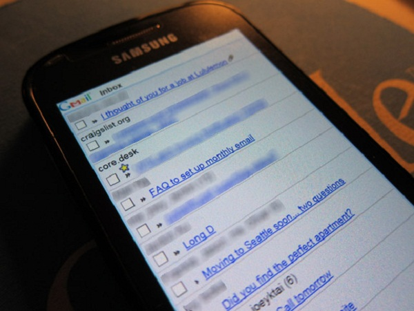 gmail on you mobile