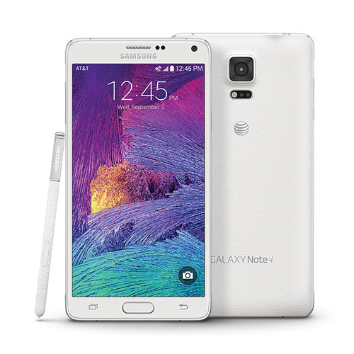 Samsung Galaxy Note 4 N910 32GB 4G Android Phone in White for ATT