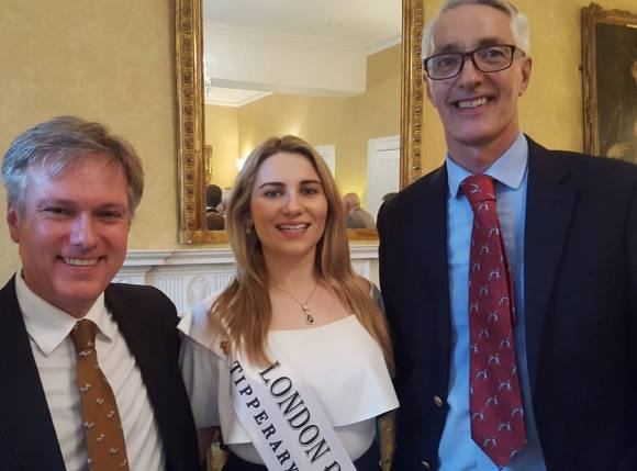 Henry Smith with London Rose, Caoimhe Gallagher and William Edgin