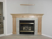 GAS FIREPLACE CORNER UNIT  Fireplaces