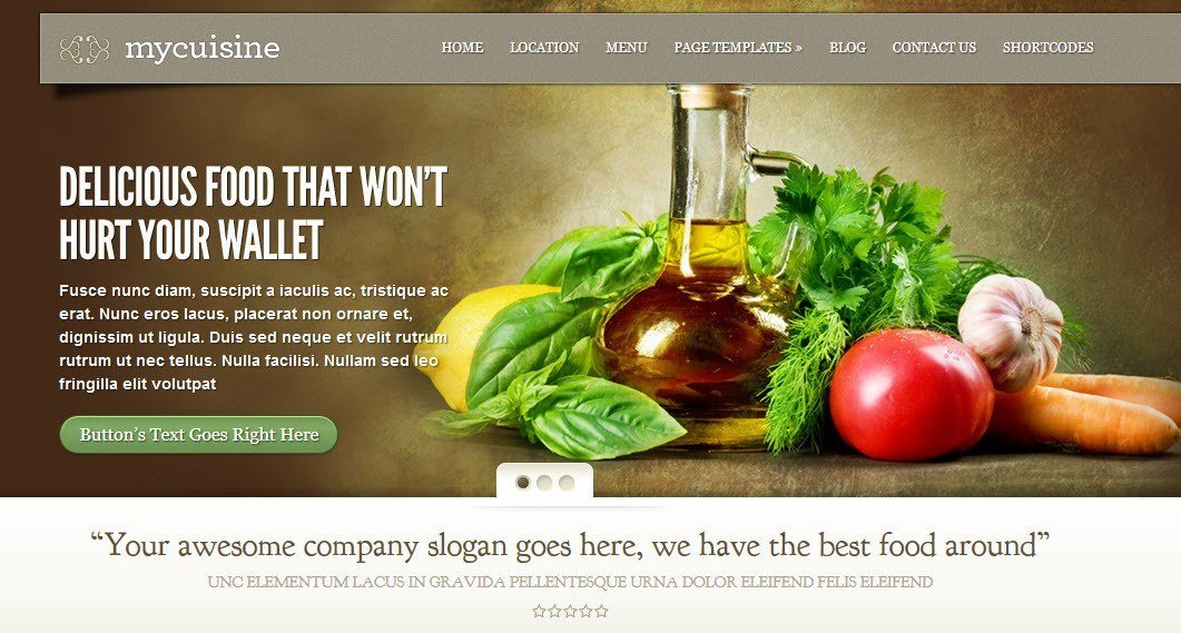 MyCuisine Theme Installation From Elegant Themes  Blogging Your
