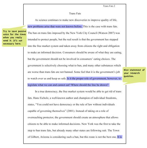how to write apa style essay