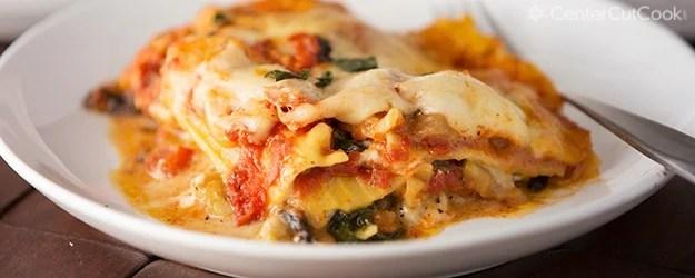 Hearty Cheesy Vegetable Lasagna! Recipe