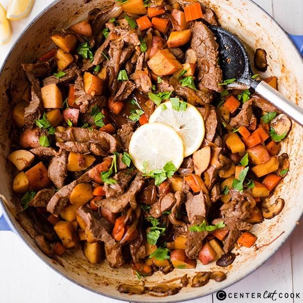 One Pan Steak And Potatoes Recipe