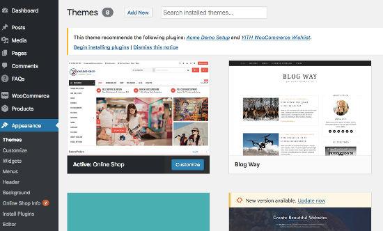 Online Shop - Tema WordPress Keren untuk Toko Online WooCommerce