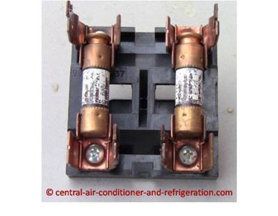 Central Air Fuse Box - Schema Wiring Diagram