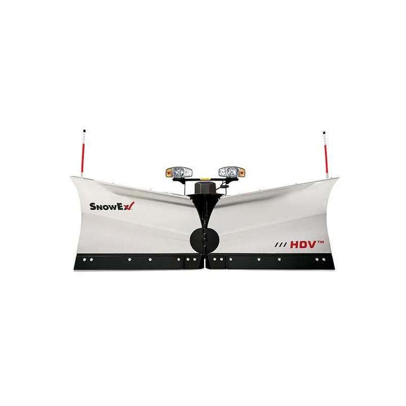 SnowEx 96\u0027 Stainless Steel HDV Heavy-Duty V-Plow Snowplow