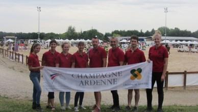 Notre délégation Champagne Ardennes