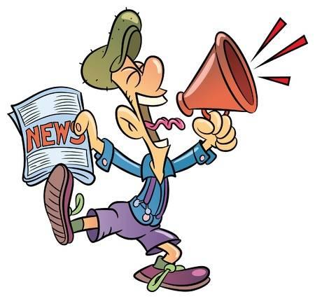 17344100-vente-de-journaux-criant-dans-un-mégaphone-paperboy