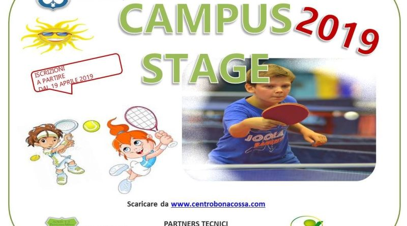CAMPUS STAGE 2019 brochure