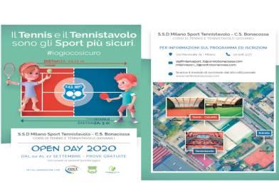OPEN DAY 2020             TENNIS & TENNISTAVOLO