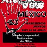 XIV Accion Global por Ayotzinapa