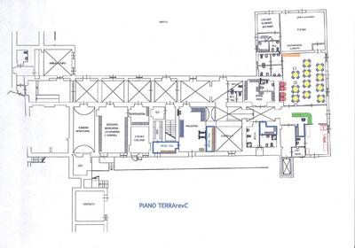 Progetti case piano terra gaetano bertino progetto di una for Disegni di casa piano aperto