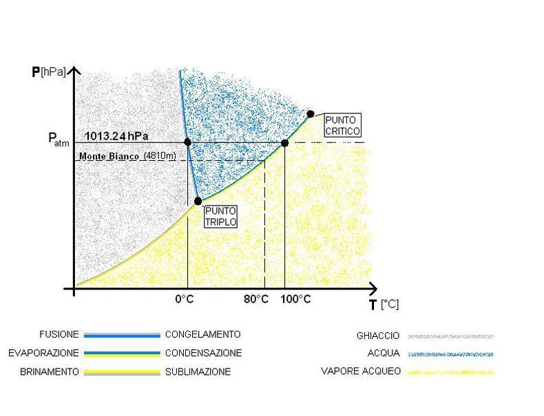 7- Diagrammi di stato H2O e CO2 a confronto! - chimica