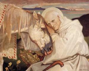 Edward Burne-Jones, San Colombano