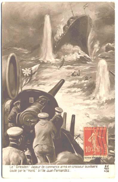 Con un atto di pirateria internazionale gli Inglesi chiudono la partita con l'inafferrabile Dresden