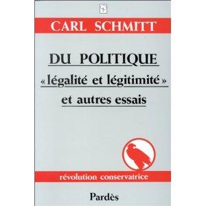 La décision dans l'œuvre de Carl Schmitt