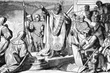 Der sakrale Charakter des Königtums
