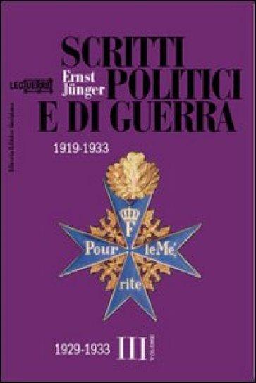 Gli intellettuali tedeschi e la crisi di Weimar