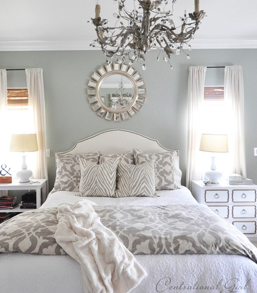 Black White And Silver Striped Wallpaper Centsational Girl Home Tour Centsational Style