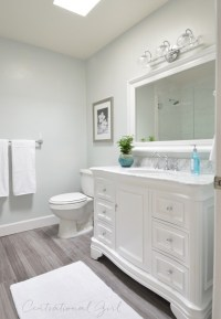 Bathroom Remodel Complete | Centsational Girl