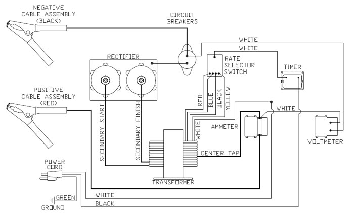 show wiring diagram on a century 9722