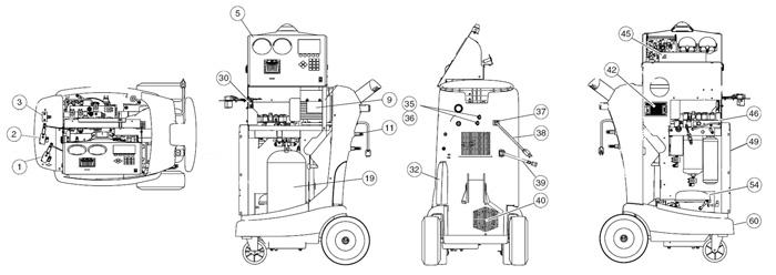 parts diagram for robinair 34988