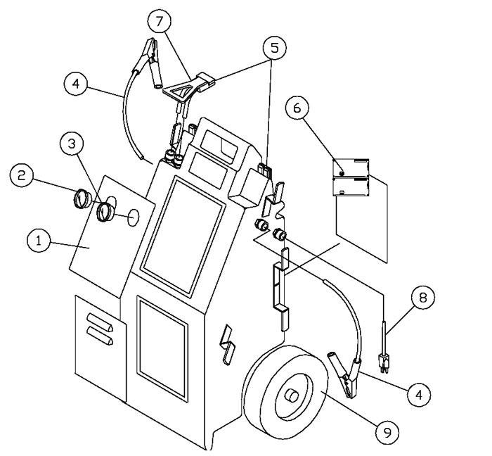 wiring diagram for electric meter lamps