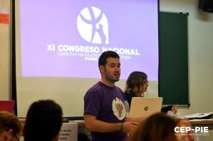 Pablo Morales nos expone los avances del CNCEP17