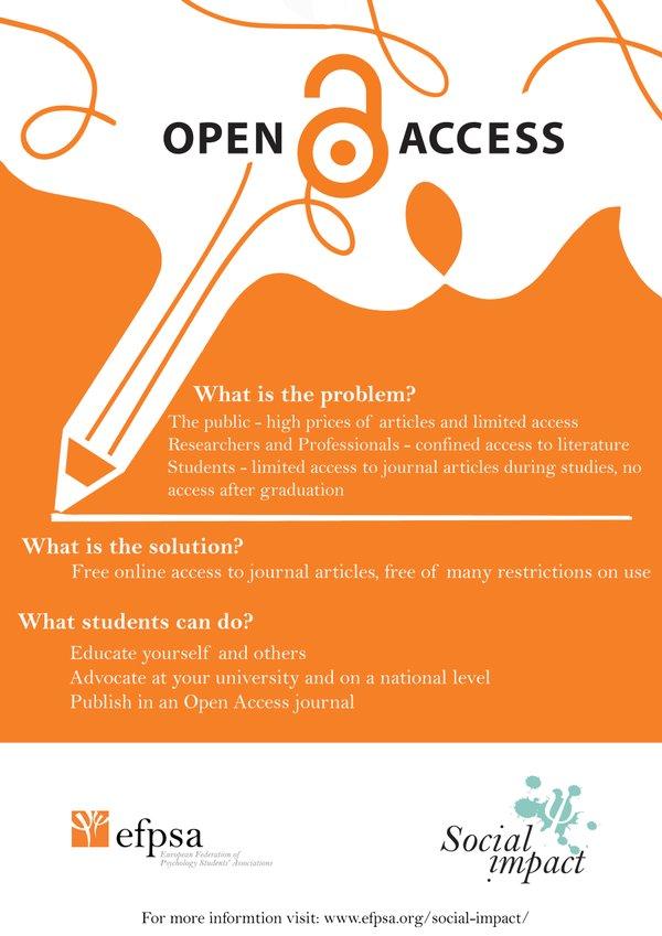 EFPSA_Open Access