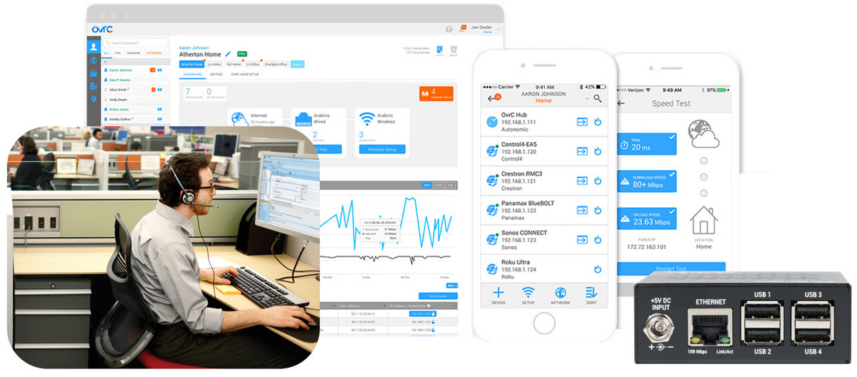 Tech Support Superfecta OneVision adds SnapAV OvrC to Remote