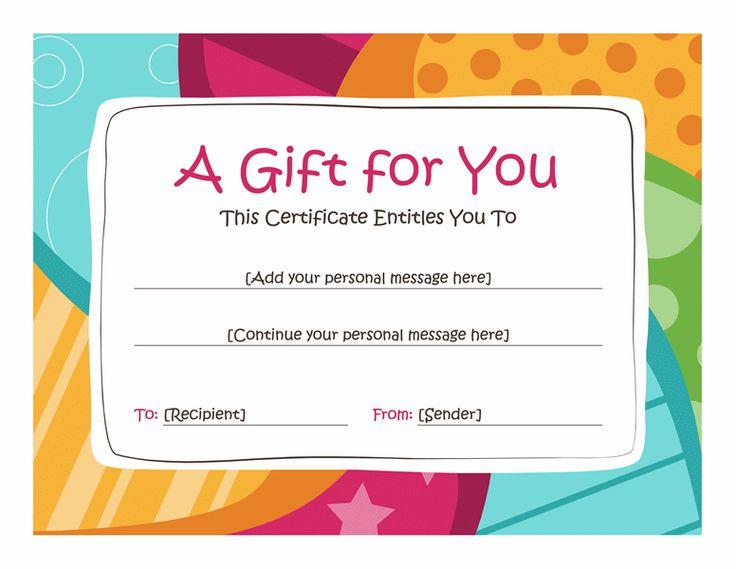 fun gift certificate template - Onwebioinnovate