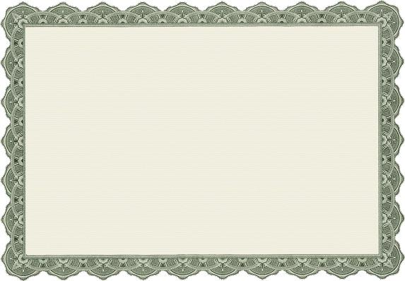 blank-green-superstar-certificate-template - blank certificate template