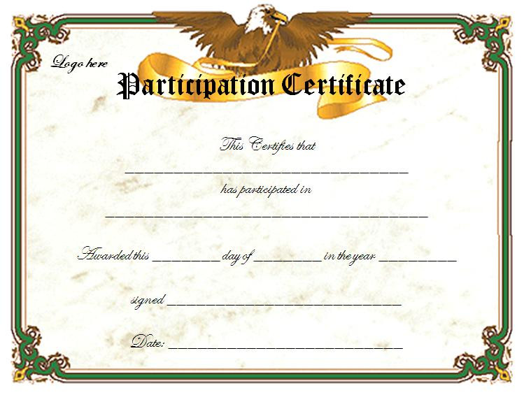 green-printable-online-certificate-templates - certificates free download free printable