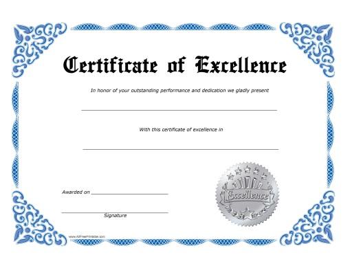 sales certificate template - Idealvistalist - award certificates templates