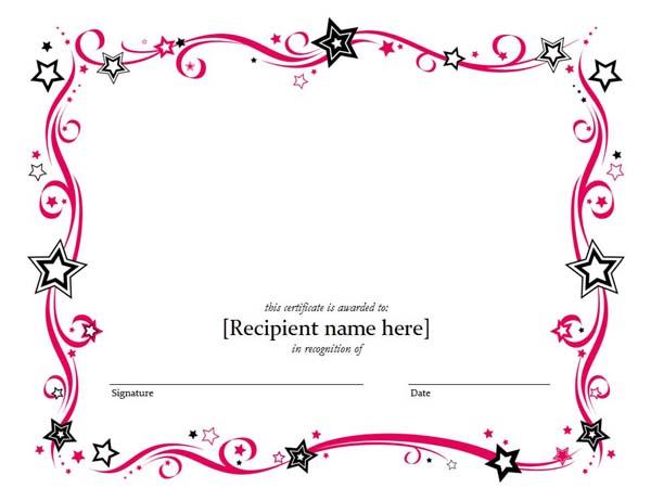 5 Templates Doc Certificates Certificate Templates - certificate template doc