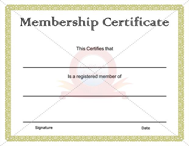 membership-certificate-Microsoft-Word-editable - sample membership certificate