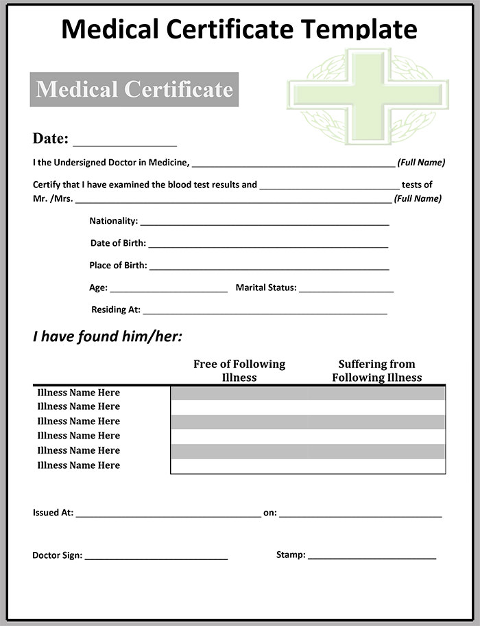 sample-Medical-Certificate-Template