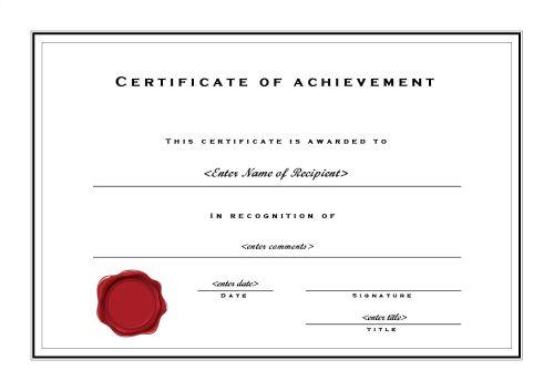 Business Templates Certificates Certificate Templates - blank certificates template