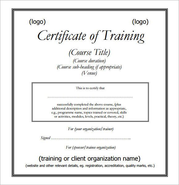 Event Templates Certificates Certificate Templates - blank certificates template