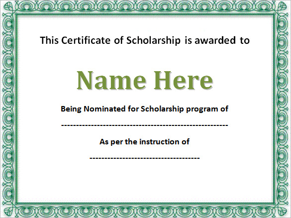 Editable-Scholarship-Certificate-Template-Word