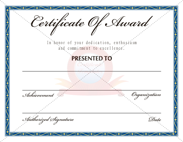 certificate-template-ertificate-template-for-Word - certificate sample in word