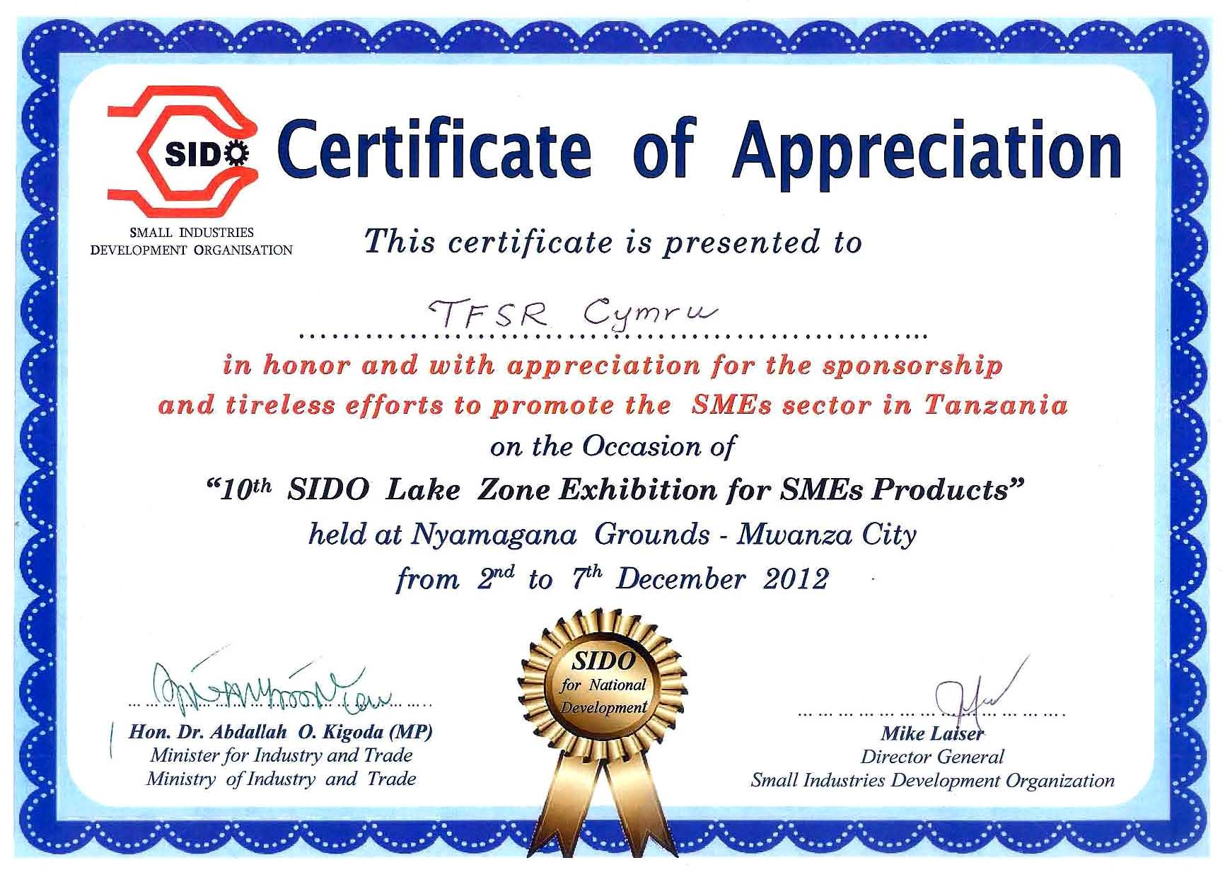 sample content of certificate of appreciation Oylekalakaarico