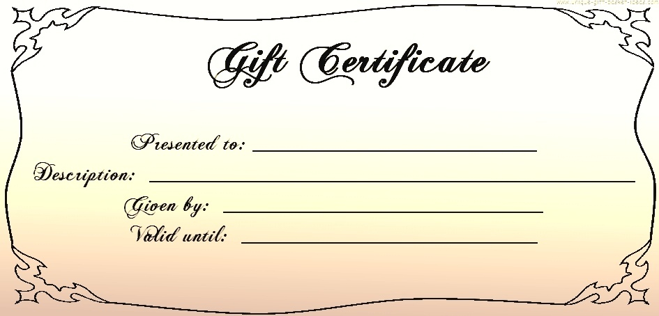 templates for gift certificates free downloads templates for gift - christmas gift certificates templates