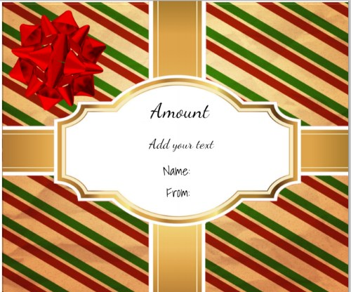 Christmas Certificate Template Images - Template Design Ideas